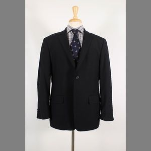John Varvatos 42S Dark Navy Sport Coat B183
